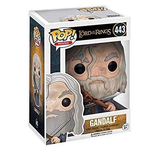 Gogowin Pop Movie : The Lord of The Rings - Gandalf 3.9inch Vinyl Gift for Boys Fantasy Movie Fans