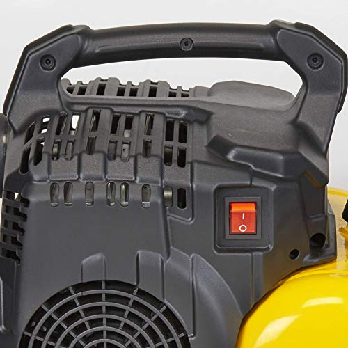 Stanley 100/8/6 Silent Air Compressor DST 100/8/6SI, 750 W, 230 V, Giallo - 3