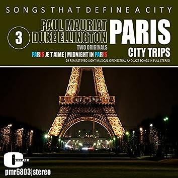 Songs That Define a City; Paris, Volume 3