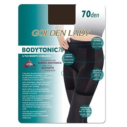 Golden Lady - Media Panty Reductora Mujer Color: Marron Talla: 4