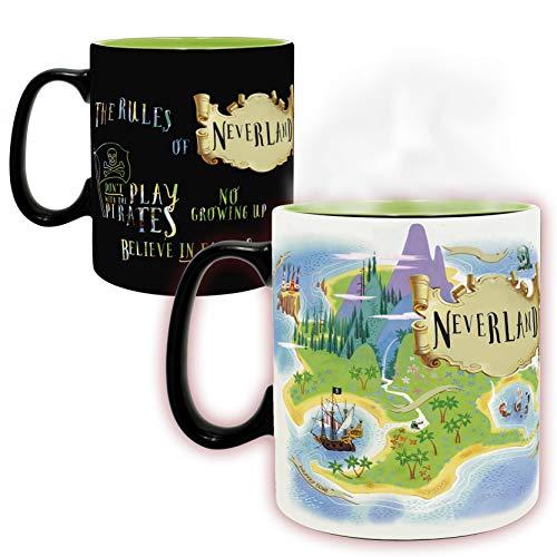 ABYstyle - Disney - Peter pan - Mug Heat Change - 460 ml - Neverland - version italienne
