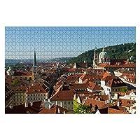 1000ピース ジグソーパズル 風景 チェコの町並み プラハ旧市街 子供 おもちゃ 室内 プレゼント 誕生日プレゼント 女の子 男の子 知育玩具