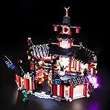 BRIKSMAX Kit de Iluminación Led para Lego Ninjago Monasterio del Spinjitzu,Compatible con Ladrillos de Construcción Lego Modelo 70670, Juego de Legos no Incluido
