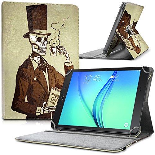 KARYLAX - Funda protectora y soporte universal L (27,5 x 19 cm), diseño KJ19 para Lenovo Yoga Tab 3 Plus