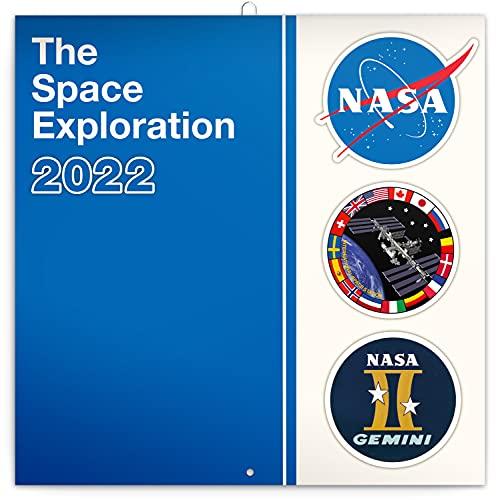 2022 NASA Wall Calendar, Space Monthly Calendar, Family Calendar 12x12