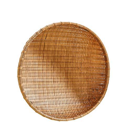 Bamboo Fatti a Mano e zappette per Raccogliere cesti di Prodotti di bambù Cesto di detersivi vegetali e Marmi di Frutta mostrano la Posta del Pacchetto