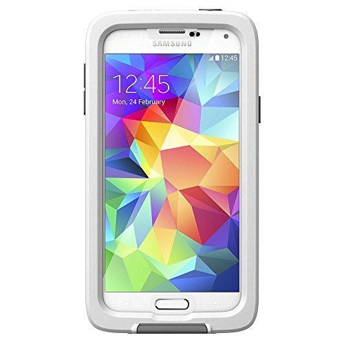 LifeProof Fre - Funda con Protector de Pantalla para Samsung Galaxy S5, Blanco
