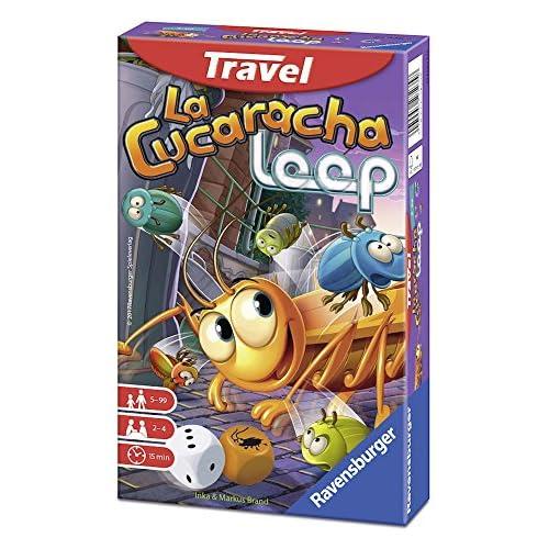 Ravensburger Italy-La Cucaracha Loop Gioco Travel, No Color, 23438
