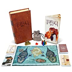 Set your sails: become a pirate and deceive your friends at game night with Tortuga 1667. This board game is a unique strategy and social deduction game. All hands on deck: plunder treasure using cards, strategy, deceit, and a bit of luck. Take this ...