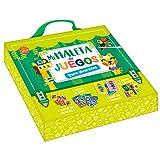 Auzou-Mi Primera maletita de Juegos Mi Maleta, Color Verde (XOU-3892961)