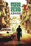 Buena Vista Social Club: Adios ~ Original 27x40...