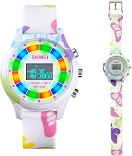 CakCity Kids Digital Sport Watch for Boys Girls Kid Waterproof Electronic Multi Function Cute Outdoor Watches with LED Lum...