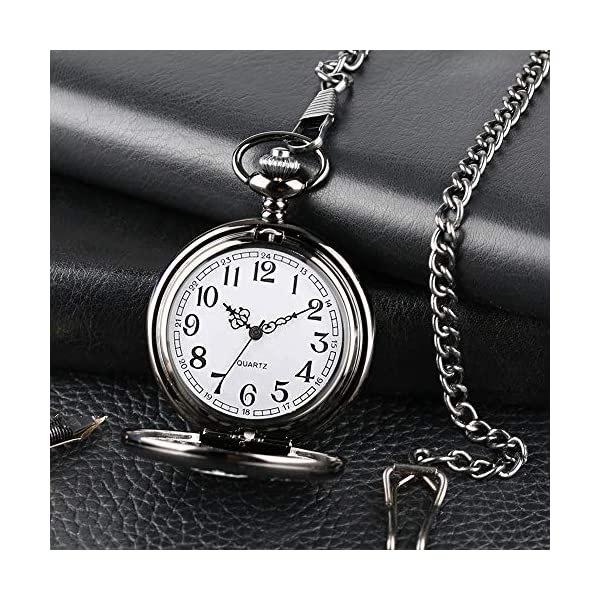 to My Brother Pocket Watch Gifts for Brother Best Gifts for Him Birthday Gifts from Sister, Graduation Gifts for Men,Engraved Pocket Watch with Box for Men