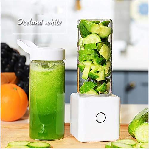 Lcme Personal Blender USB Juicer Cup, beweglicher Juicer Blender Easy Clean Extractor Press Schleuder Entsaften Maschine Chute für Whole-Frucht-Gemüse, Anti-Driphigh Qualität,c
