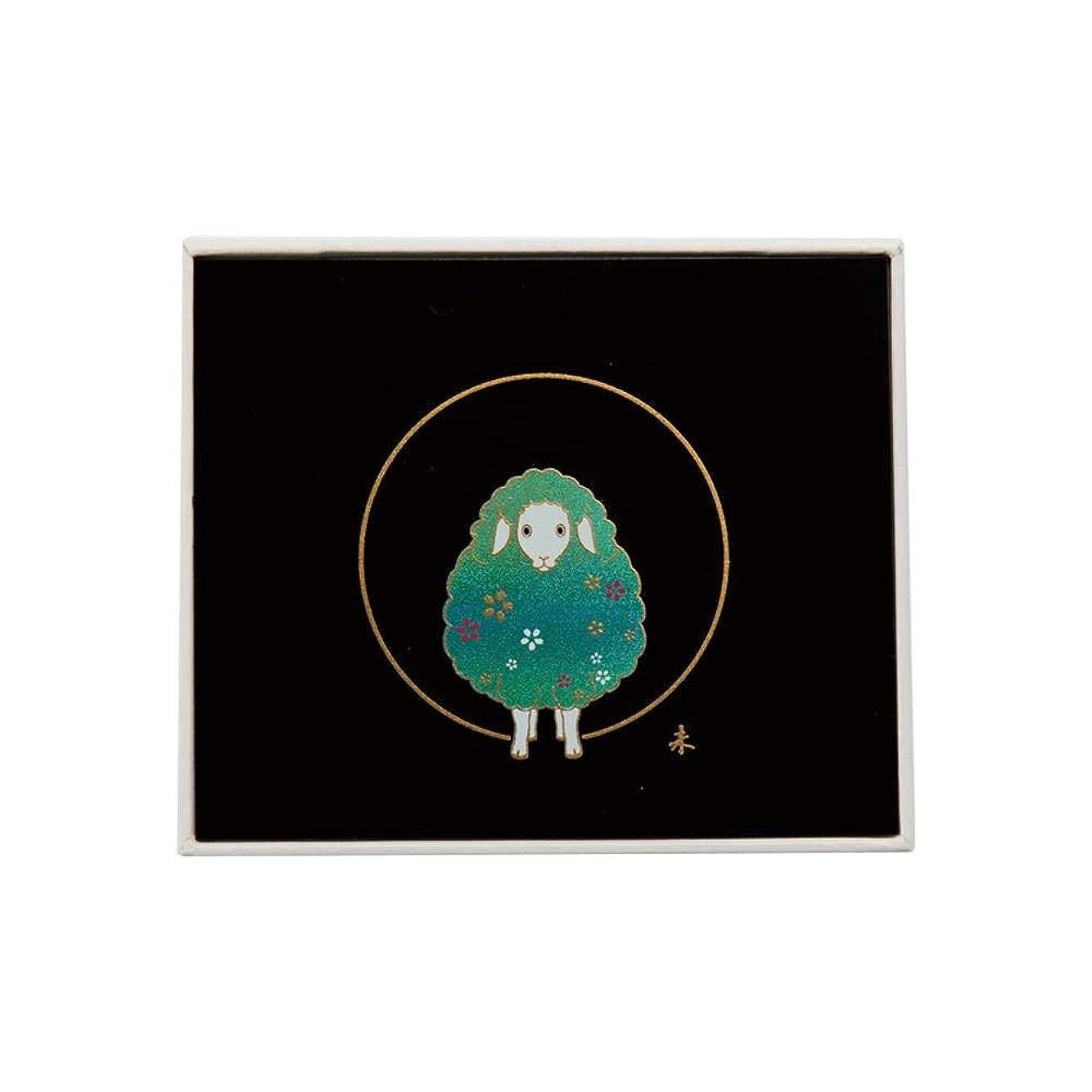 誓うサーカスマンモスTEETH BOX 未(黒 蒔絵) 0001077