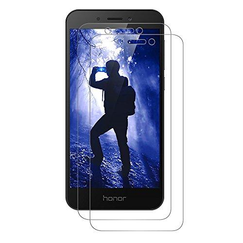 AICEK [2 Stück] Honor 6A Schutzfolie, Tempered Glass Bildschirmschutzfolie für Huawei Honor 6A Schutzglas Screen Protector 9H Hardness Gehärtetem Glas Anti-Kratz Klar Bildschirmschutz Honor 6A Panzerglas