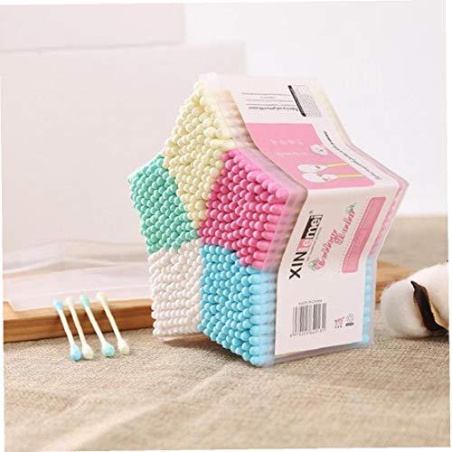 500pcs / Baby Set Cotton Swab bâton Head Ear Bud Outil de Nettoyage Nouveaux cosmétiques