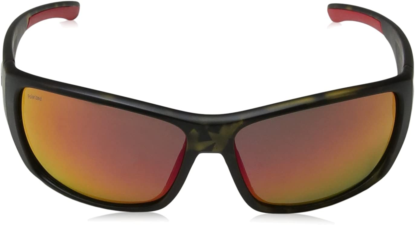 Smith Forge Polarized Sunglasses - Men's Matte Camo/Polarized Red Mirror, One Size