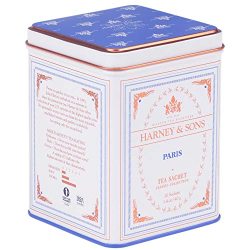 Harney & Sons Black Tea, Paris, 20 Sachets by Harney & Sons