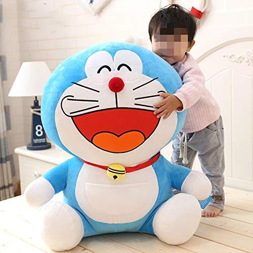 Puppe Plüschtier Blau Dicken Mann Puppe Jingle Katze Roboter Katze Puppe Zu Senden Mädchen 40 cm 3