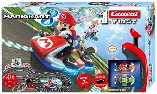 Carrera Slot 1:43 Super Mario Kart 8, Multicolor (20063005)