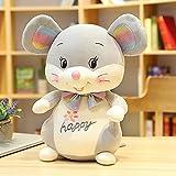 Zabats Lindo ratón de Peluche de Juguete Animal de Peluche ratón muñeca Lindo niño Regalo de cumpleaños Lindo niño bebé Juguete 36 CM C