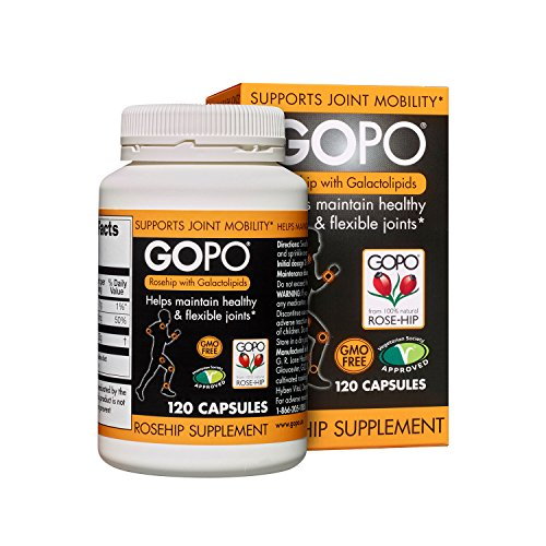 Gopo Rose Hip Joint Health Vitamin C Capsules - Pack of 120