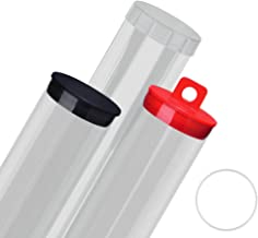 Ultra-Thin Wall Round Tubes - Clear 4