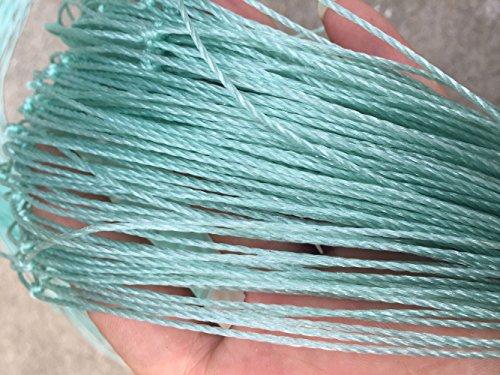 Mitef robuste PE Plante en treillis Jardin Filet Filet de volaille d'élevage Fruits plantes Treillis Net,24 brins,EN Maille filet de dimensions:5x5cm,plusieurs en option Netting Size:W1.8xL2m,Green
