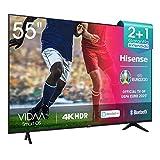 Hisense UHD TV 2020 55AE7000F - Smart TV Resolución 4K con Alexa integrada, Precision Colour, escalado UHD con IA, Ultra Dimming, audio DTS Studio Sound, Vidaa U 4.0