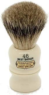Simpson Shaving Brushes Berkeley 46 B Best Badger Handmade British Shaving Brush by Simpson Shaving Brushes