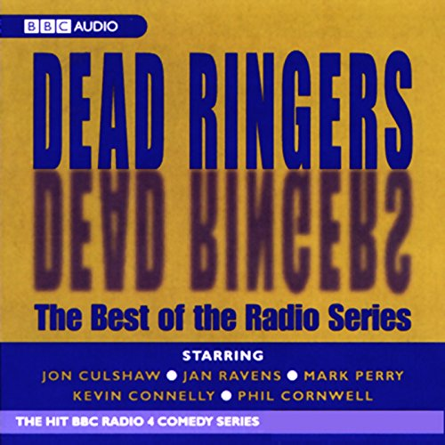 Dead Ringers audiobook cover art