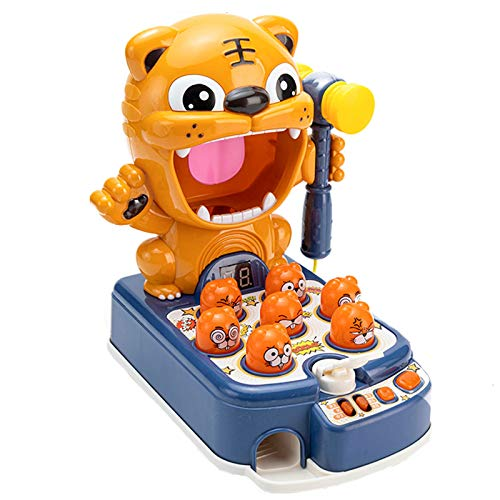 Carga de diversión Hamster Toy Baby Children's Educational Boy 1-2 años de edad Educación de la primera infancia e inteligencia Multifuncional Bebé regalo (sin batería) Ayuda con las habilidades de de