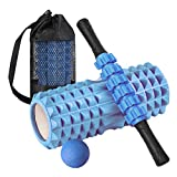 Foam Roller, 4 in 1 Foam Roller Set, Training High-Density Foam Roller Muscle