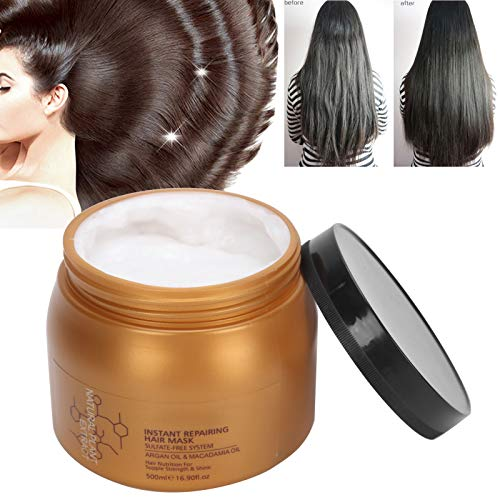Argan Oil Hair Mask, 500ml Moisturizing Damage Repair Hair Mask Frizz Treatment Nourishing Hair conditioner
