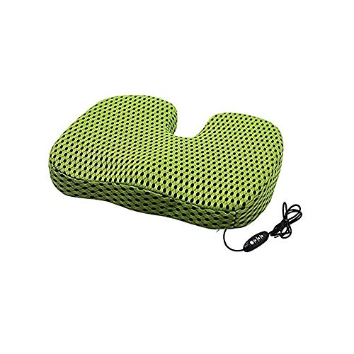 KYL USB Heating Cushion ,Comfort Seat Cushion Everlasting Comfort Seat Cushion For Office Chair -Pain Relief Cushion Sciatica Pillow For Sitting (Color : B)