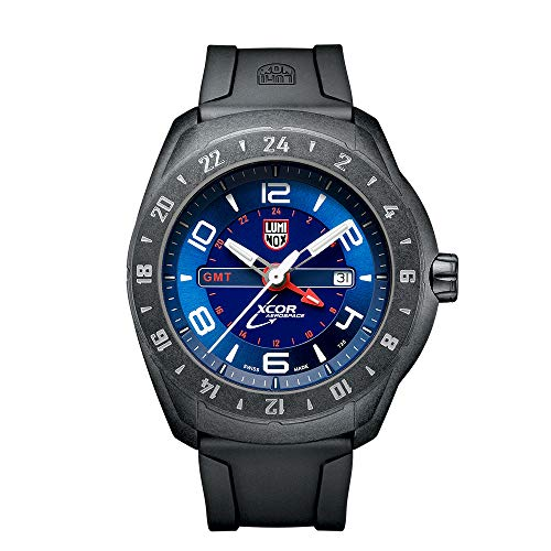 Luminox Outdoor Black Mens Watch XCOR Aerospace (XU.5023/5020 Series) - 200 M Water Resistant Day-and-Date Indication Ultra Light Carbon Case