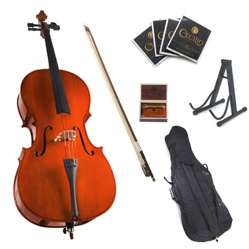Cecilio Student Cello Outfit (full-size, Natural)