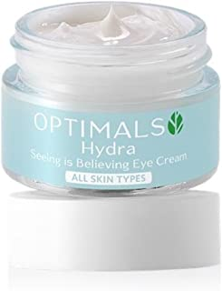 SHINNE N SHIMMER Optimals Hydra Seeing is Believing Eye Cream for All Skin Types (15g Weight, White and Blue)