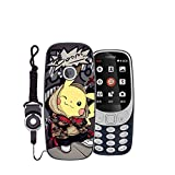 Easbuy Handy Hülle Soft TPU Silikon Hülle Etui Tasche für Nokia 3310 (2017) Smartphone Bumper Back Cover Handytasche Handyhülle Schutzhülle