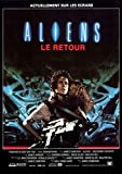 Poster Affiche Aliens Le Retour by James Cameron Affiche Movie