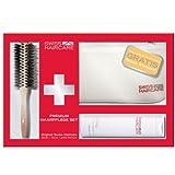 Swiss Haircare Rundbürste + Repair Shampoo + Tasche