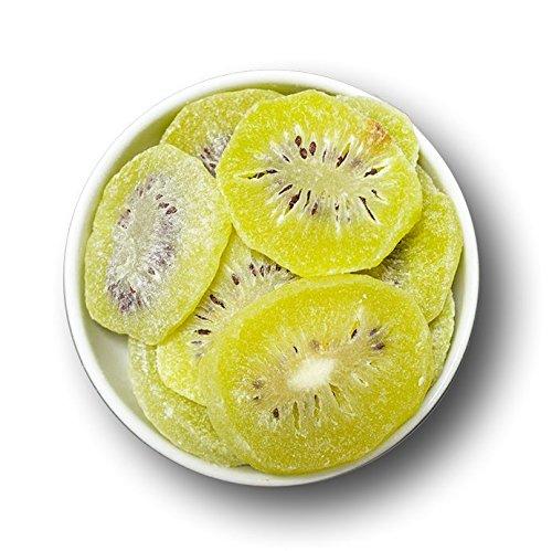 1001 Frucht Kandierte Kiwi Scheiben 250 g leicht geschwefelt I Aromatische Kandierte Früchte ohne Zusatzstoffe I Premium Trockenfrüchte Kiwi als gesunder Früchte Snack Müslifrüchte Knabberei