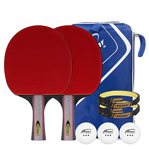 Check Out This Hewen-Ping Pong Set Portable Professional Pingpong Racket Table Tennis Bat Pingpong P...