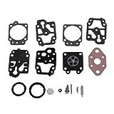 FXCO Kit de réparation carb carburateur carb Rebuild outil joint pour Walbro K20-WYL WYL-240-1