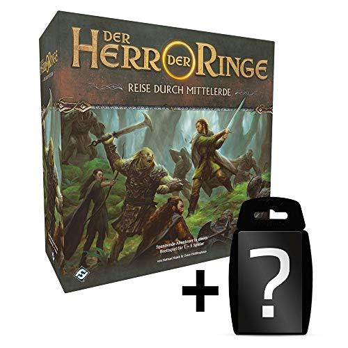 Herr der Ringe - Reise durch Mittelerde - Brettspiel | DEUTSCH | Set inkl. Kartenspiel