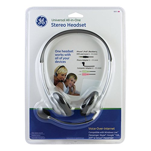 GE Universal All-in-One Stereo Headset - 98946