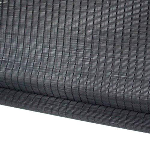 cortinas enrollables negras para terrazas exteriores