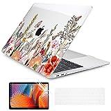 Batianda - Cover compatibile con MacBook Pro 13 pollici, A2289 A2251 2020, con coperchio per tastiera, motivo fiore salvavita