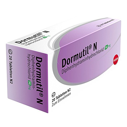 Dormutil N Tabletten bei Einschlaf- und Durchschlafstörungen, 20 St. Tabletten